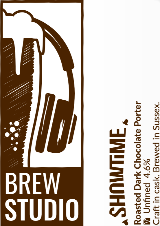 SHOWTIME – ROASTED DARK CHOCOLATE PORTER 4.6%
